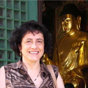 Catherine Nesci in Seoul, Korea, 2011.